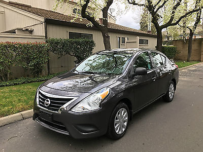 2015 Nissan Versa 1.6 S Plus Sedan 4-Door 2015 NISSAN VERSA, SEDAN, GRAY, NICE, 18KMI, RUNS GREAT, FUEL ECONOMY