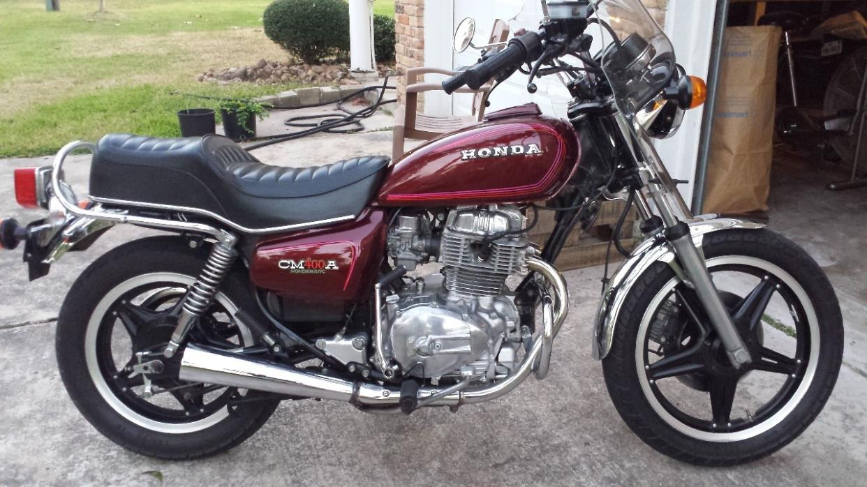 Honda Cm400a Motorcycles For Sale