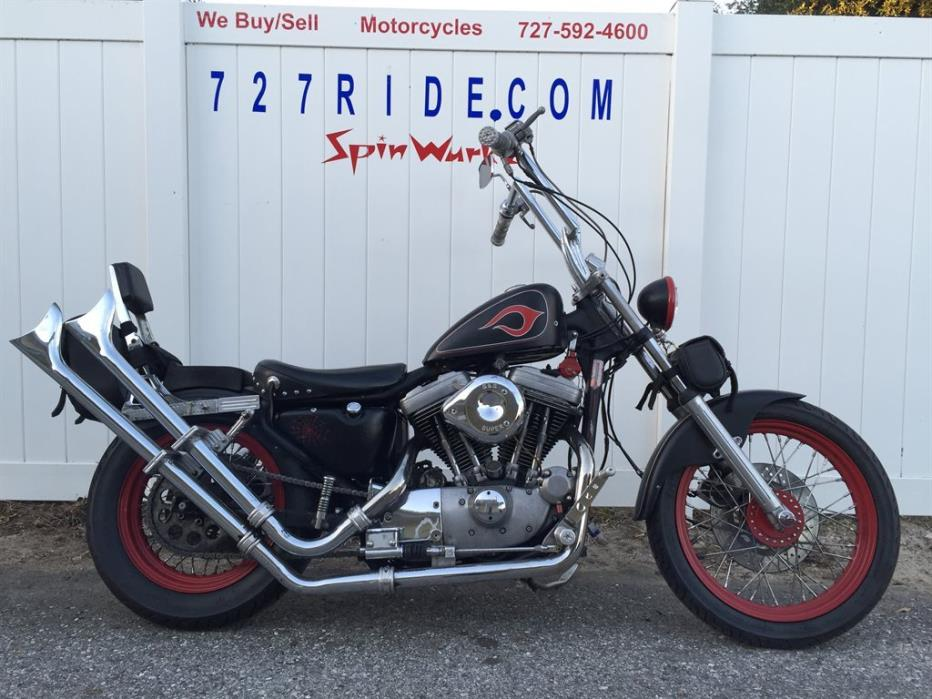 1987 Harley Davidson Sportster 1100