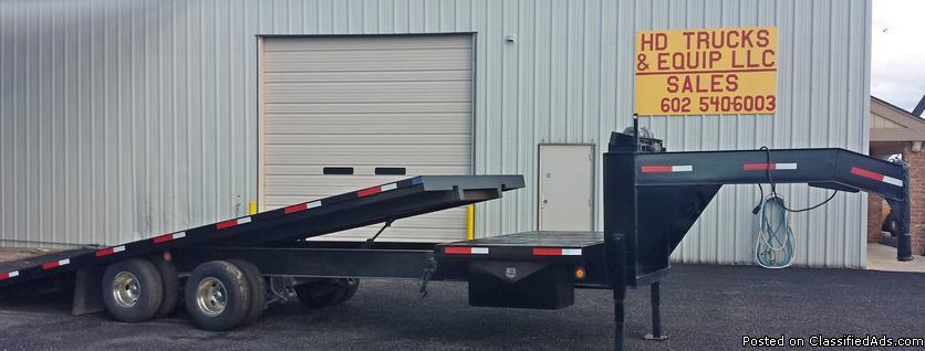 National 24K Tilt Equipment Trailer For Sale In Phoenix