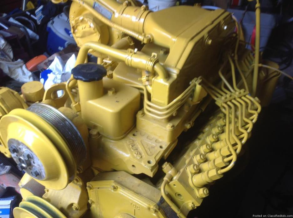 5.9 cummines motor fully complete tutors injections everything to just plug it...