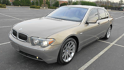 2003 BMW 7-Series Sport Sedan 4-Door 2003 BMW 745Li Sport Sedan - Excellent Condition - Loaded - 86k Mile - RARE BUY