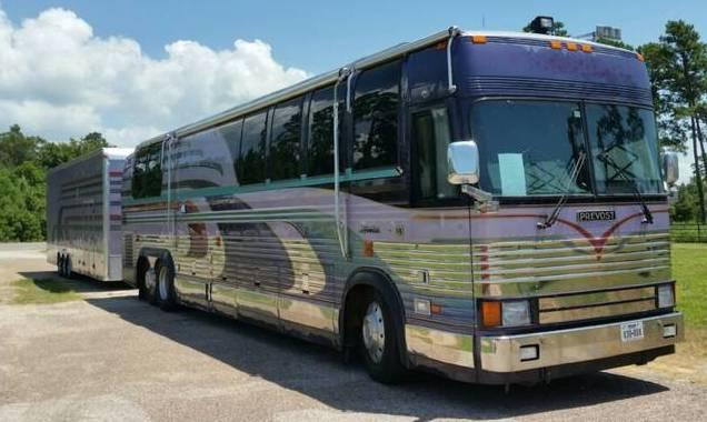 1997 PREVOST Angola And Trailer