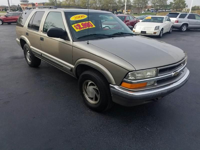 2000 Chevrolet Blazer Trailblazer 4dr 4WD SUV