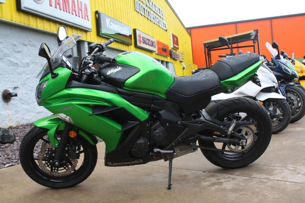 2013 Kawasaki EX650 Ninja 650R Ref# A20488