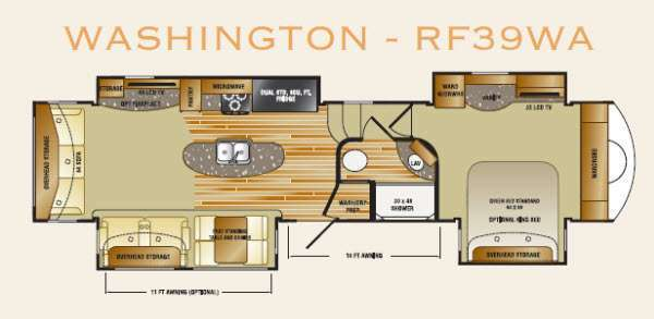 2013 Crossroads Rv Rushmore Washington RF39WA