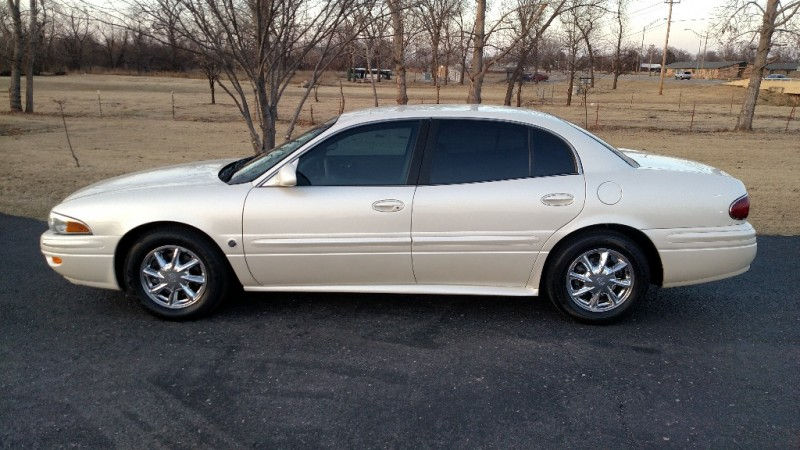 2003 BUICK LESABRE LIMITED WHITE LEATHER-LOADED CARFAX CERTIFIED IMMACULATE w/ 20 SERVICE RECOR