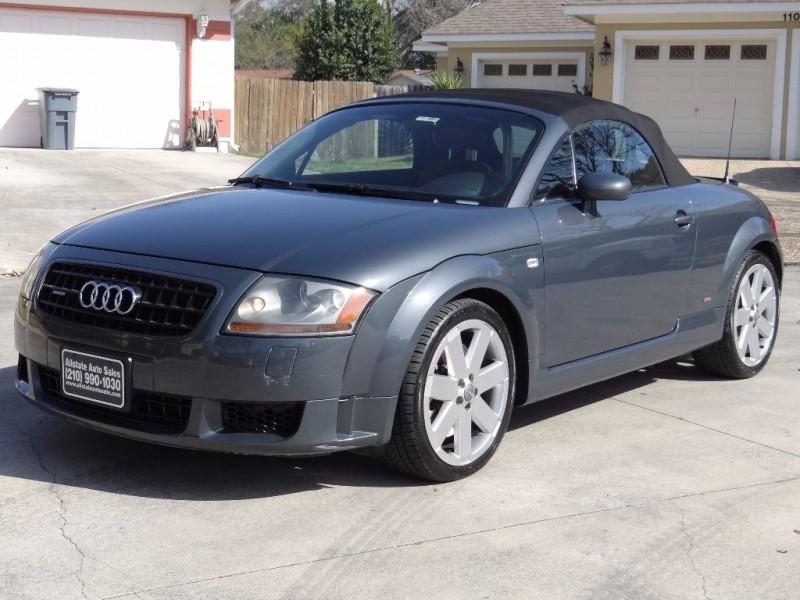 2004 Audi TT 3.2L Quattro Cabrio S-Line Low Miles