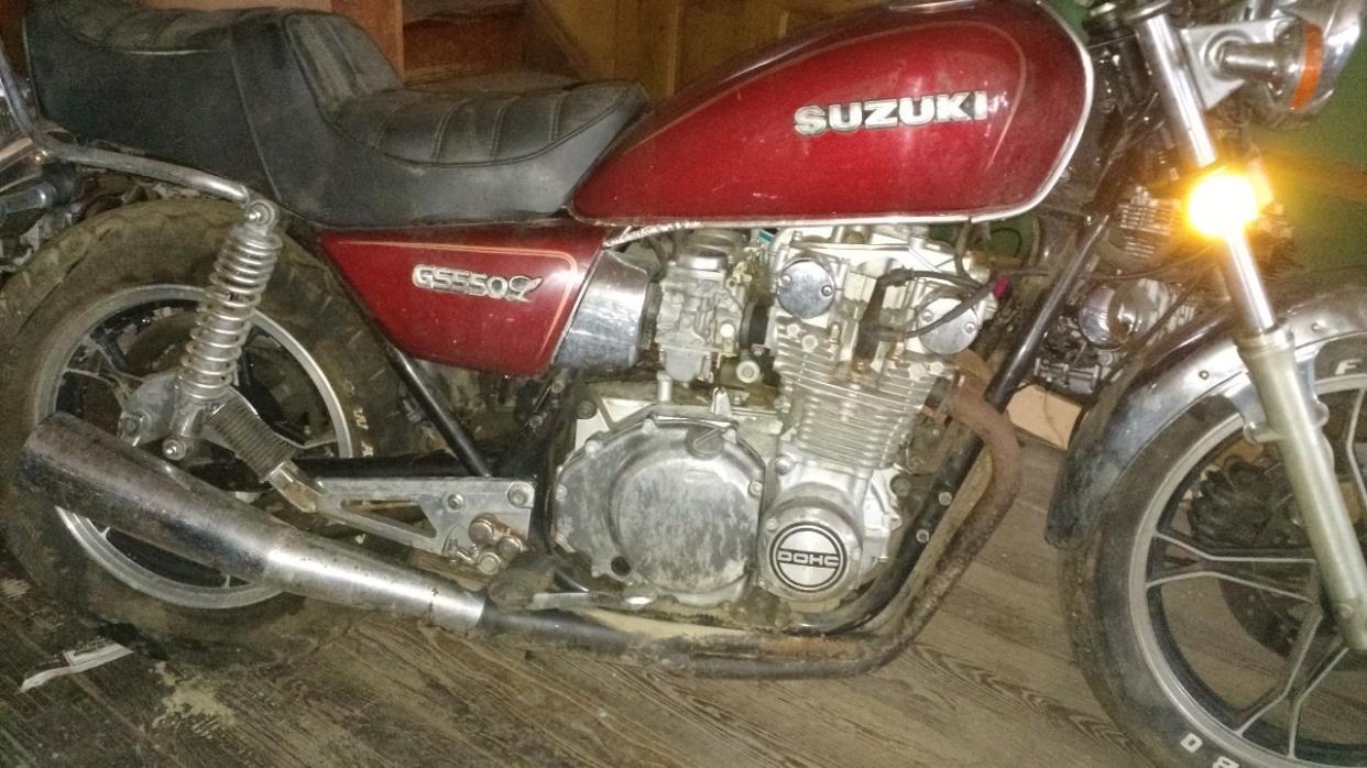 1981 Suzuki GS 550