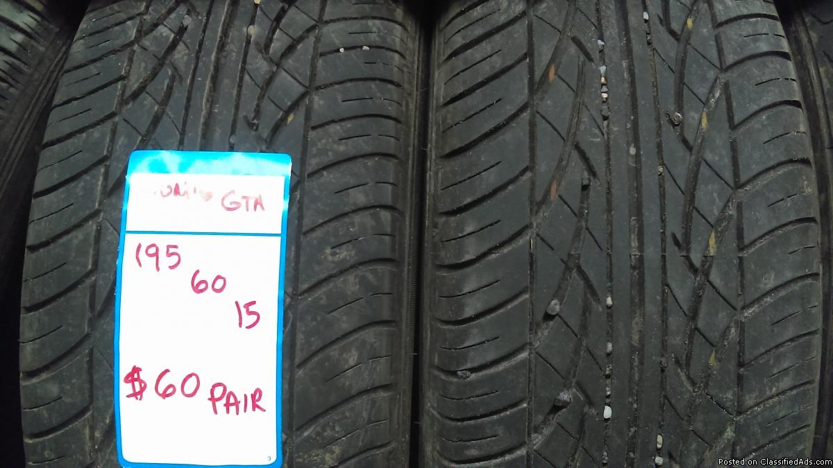 195 60 15 used tires