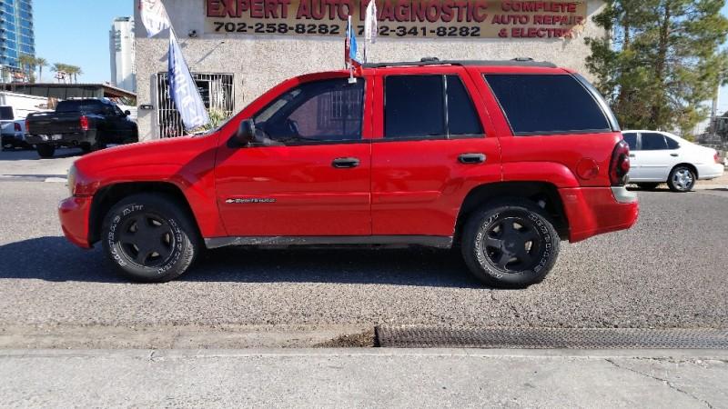 2002 Chevrolet TrailBlazer 4dr 2WD LS