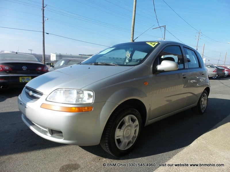 2004 Chevrolet Aveo 5dr HB Base Manual