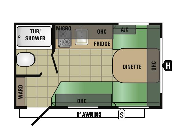 2017 Starcraft RVs AUTUMN RIDGE MINI 14RB