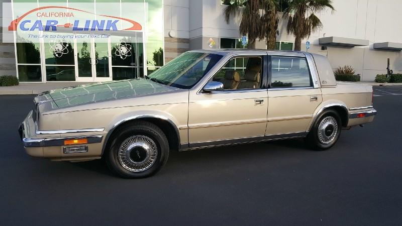 1989 Chrysler New Yorker Landau 4-Door Sedan