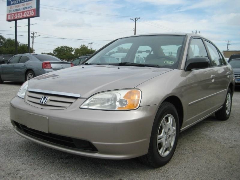 2002 Honda Civic  *IN HOUSE FINANCING*  BAD / NO CREDIT OK!!!