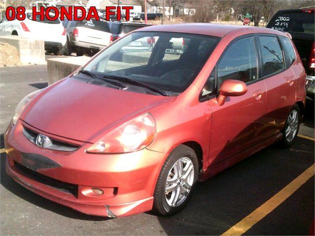2008 Honda Fit 4 Dr Hatchback