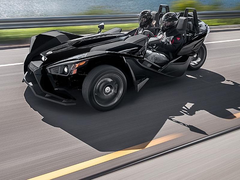 2017 Polaris Slingshot Reverse Trike Gloss Black