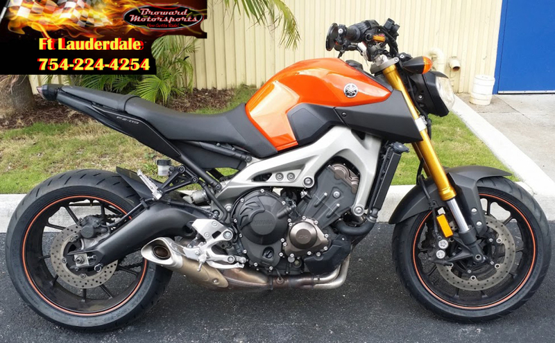yamaha fz 09 motorcycles for sale in fort lauderdale florida. Black Bedroom Furniture Sets. Home Design Ideas
