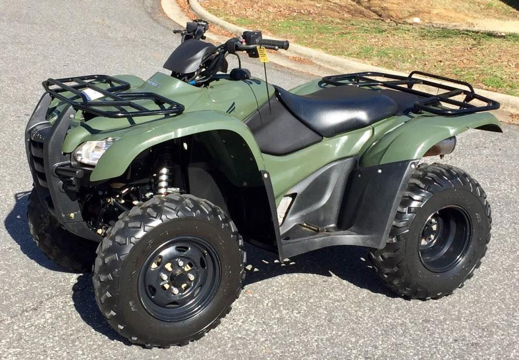 2012 Honda Fourtrax Rancher Vehicles For Sale