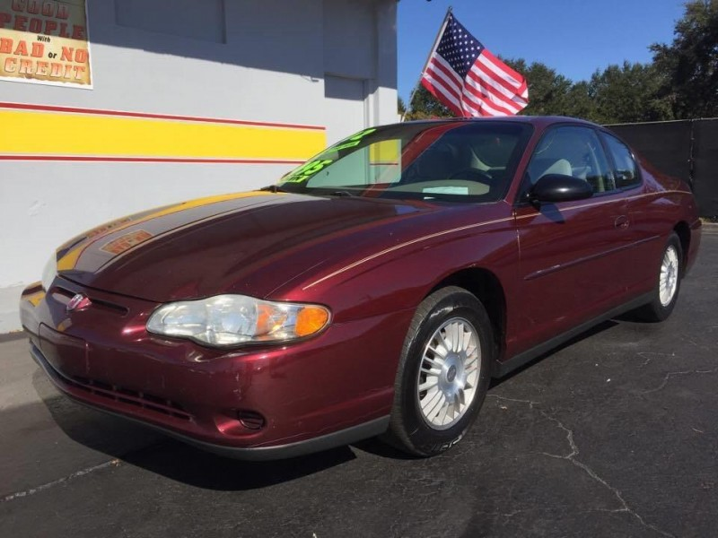 2002 Chevrolet Monte Carlo LS 2dr Coupe