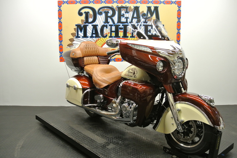 2015 Indian Roadmaster Custom Paint Root Beer Cr