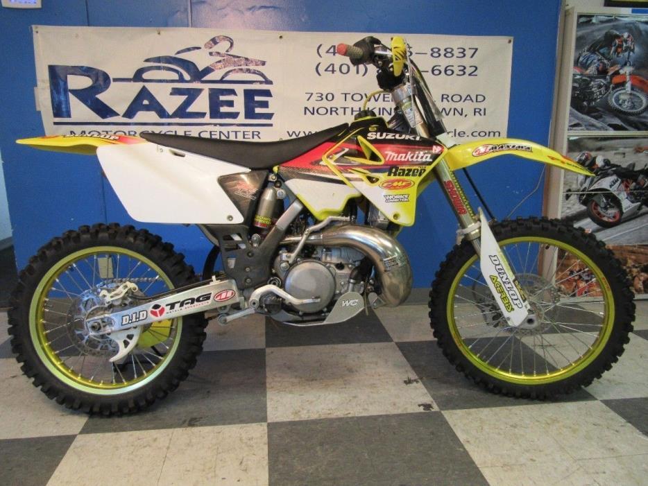 2006 Suzuki RM250 Ricky Carmichael Edition