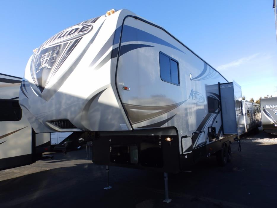 2018 Eclipse Recreational Vehicles ATTITUDE 28SAG, 1 SLIDE, 160 WATT SOLAR, ONAN 4000