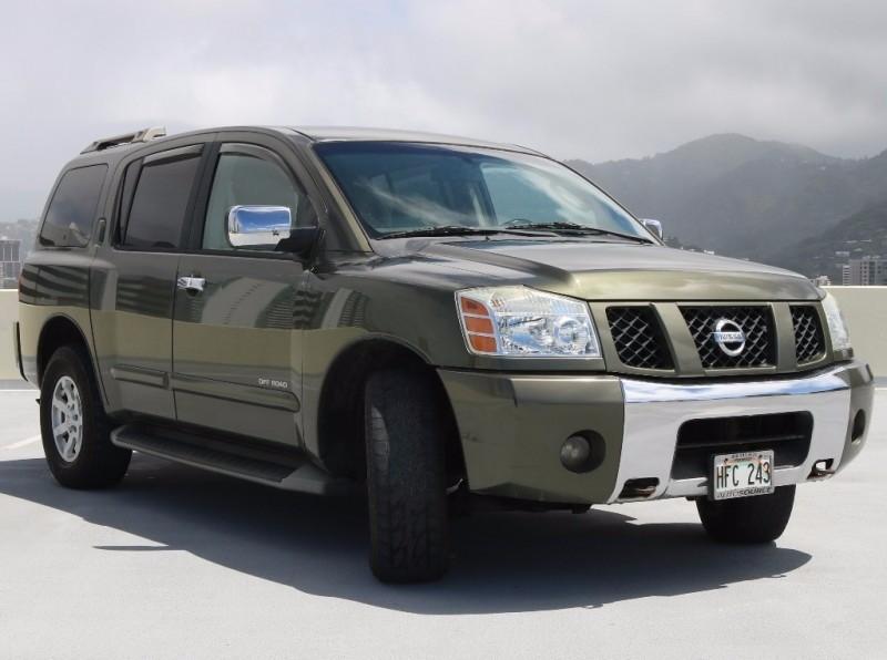2004 Nissan Pathfinder Armada SE Off-Road 4WD