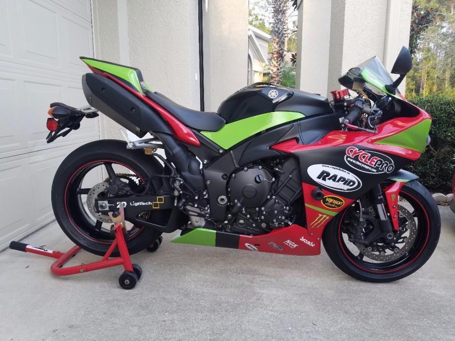 yamaha r1 motorcycles for sale in alafaya florida. Black Bedroom Furniture Sets. Home Design Ideas