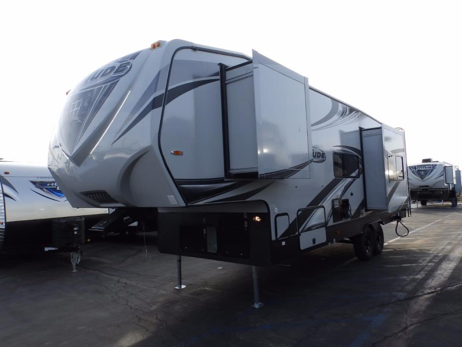 2018 Eclipse Recreational Vehicles ATTITUDE 28SAG, 2 SLIDES, 160 WATT SOLAR, ONAN 4000