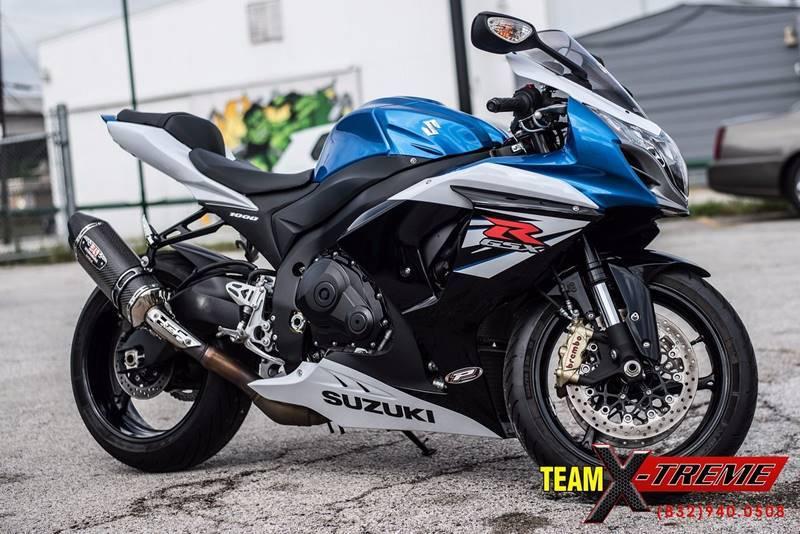 Suzuki gsxr 1000 motorcycles for sale in houston texas for Suzuki gsxr 1000 motor for sale