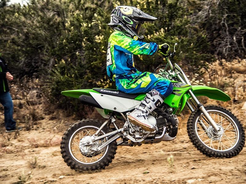 2017 Kawasaki KLX 110 Dirt Bike
