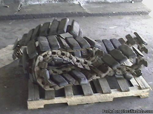 Used Set Komatsu pc 35mr-2 mini excavator Steel tracks