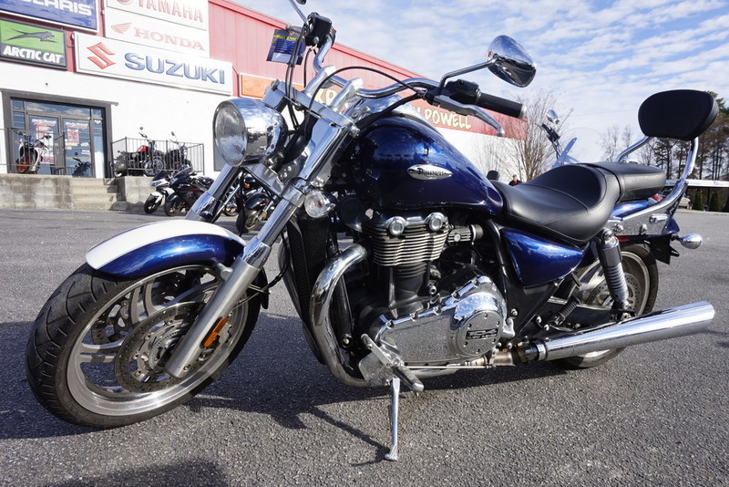 triumph thunderbird 1700 abs motorcycles for sale in north carolina. Black Bedroom Furniture Sets. Home Design Ideas