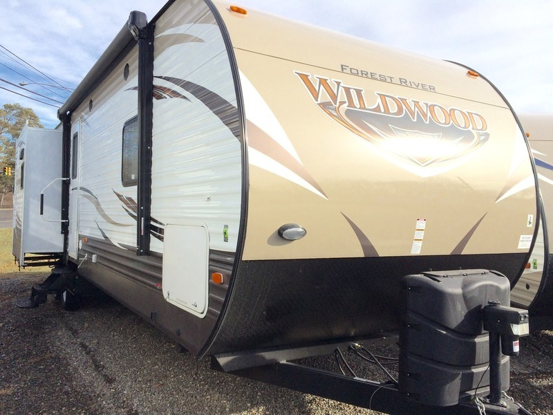 2017 Forest River Wildwood 31BKIS