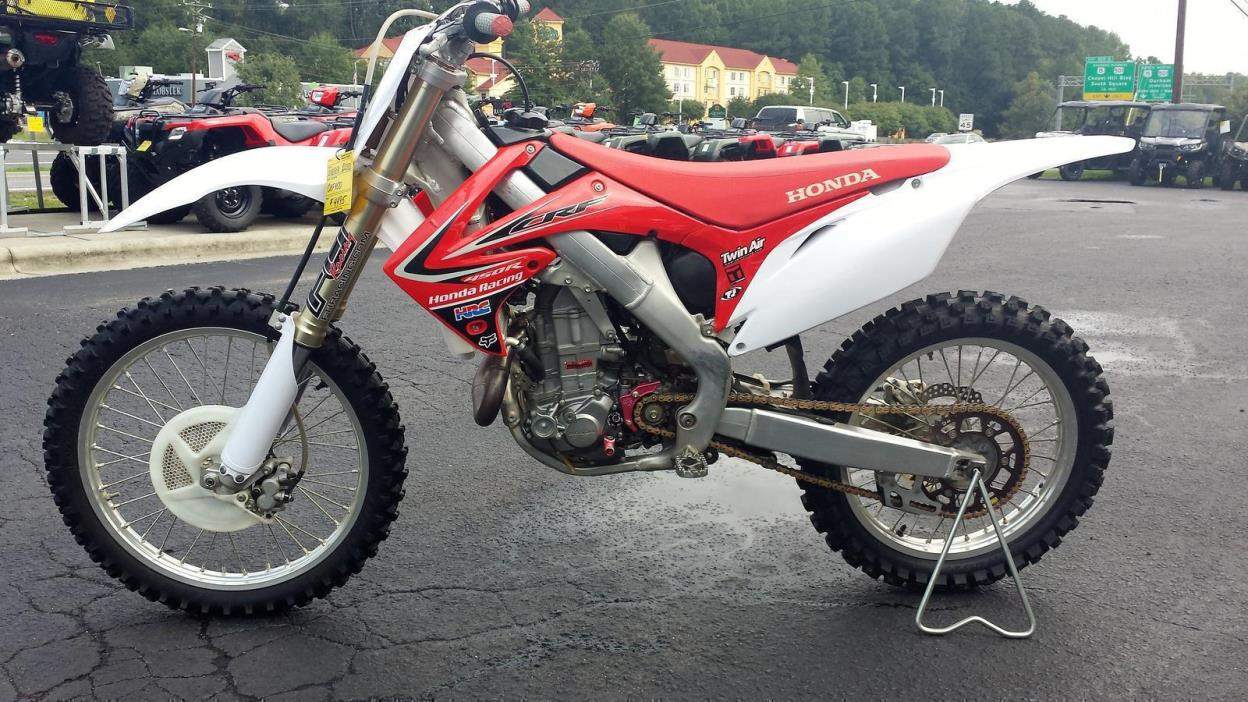Atv Honda 450 2010 Motorcycles for sale