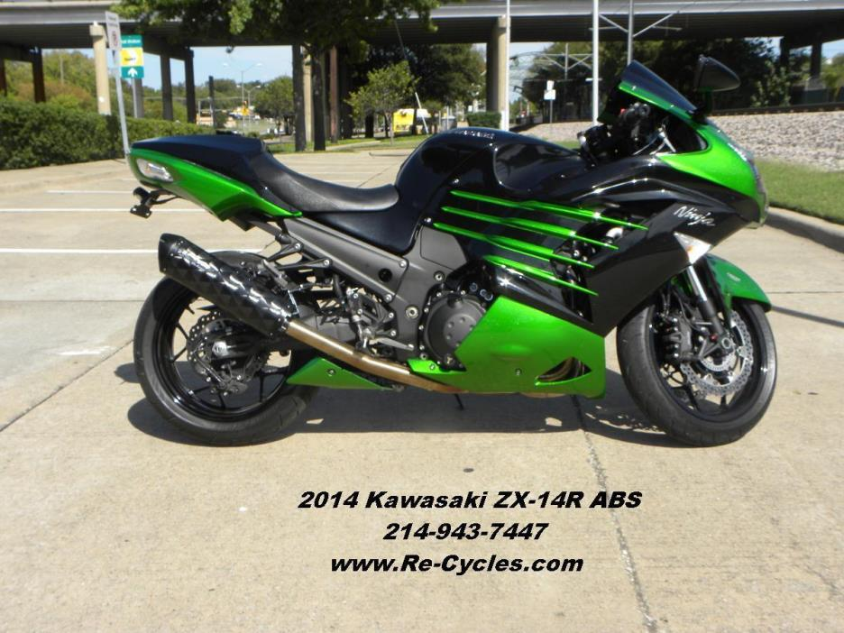 kawasaki ninja zx 14r abs motorcycles for sale in dallas texas. Black Bedroom Furniture Sets. Home Design Ideas