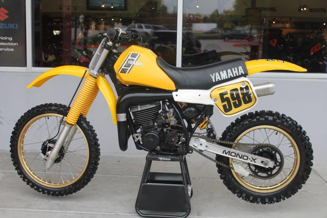 1983 Yamaha YZ490