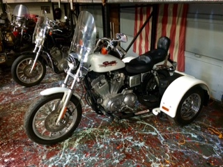 Harley Davidson Xl883 Sportster With Trike Kit Motorcycles
