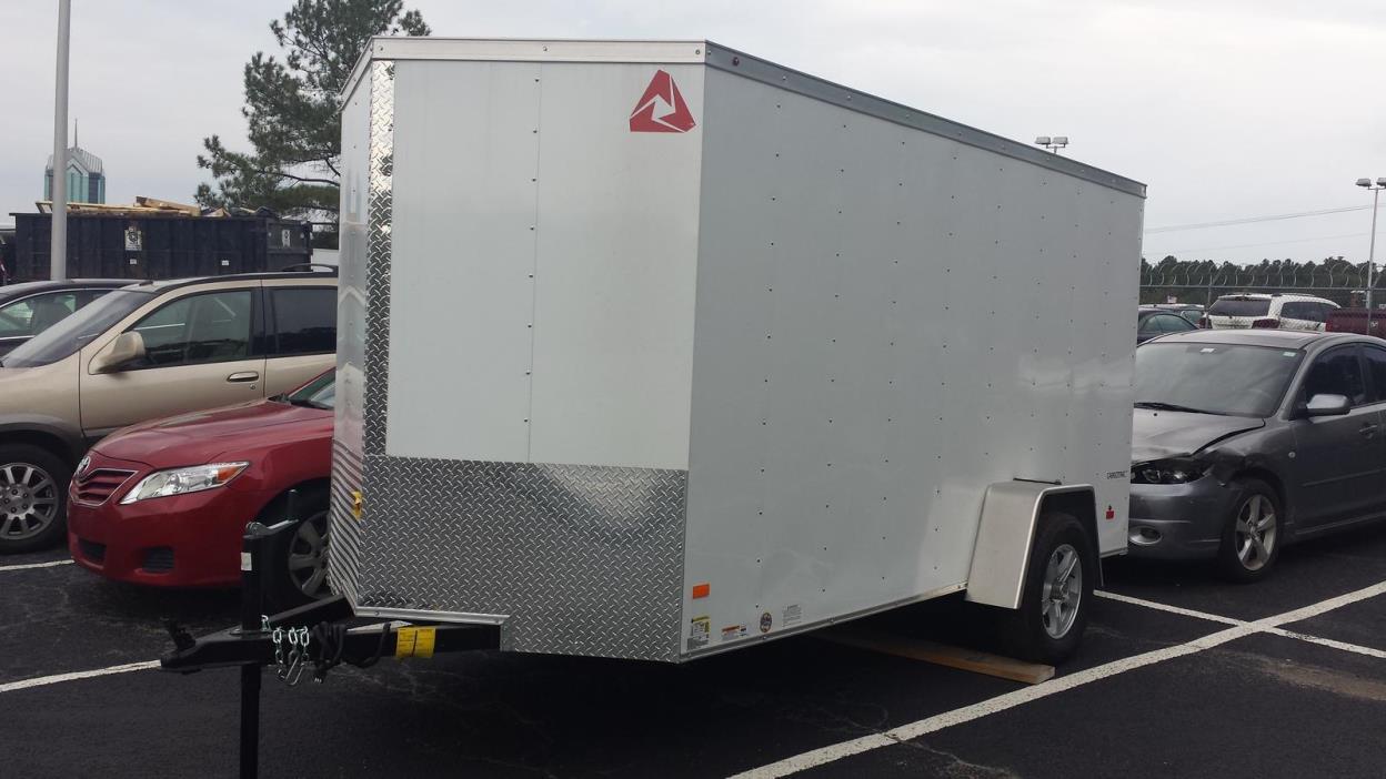 2017 Wells Cargo WELLS CARGO 6X10 ENCLOSED TRAILER
