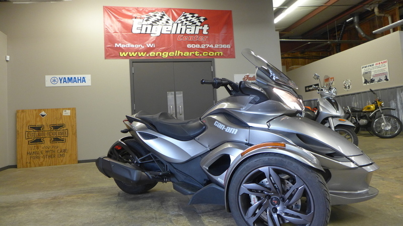 can am spyder st motorcycles for sale in wisconsin. Black Bedroom Furniture Sets. Home Design Ideas