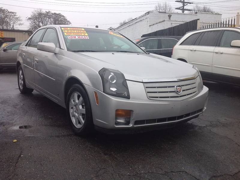 2007 Cadillac CTS Base 4dr Sedan (2.8L V6)