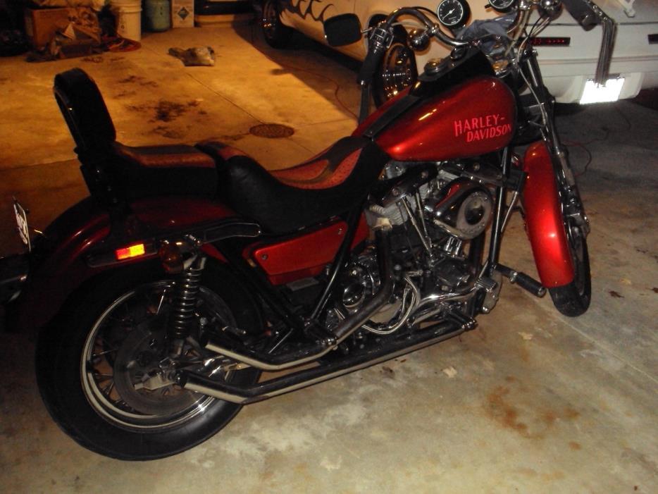 1982 Harley-Davidson LOW RIDER S