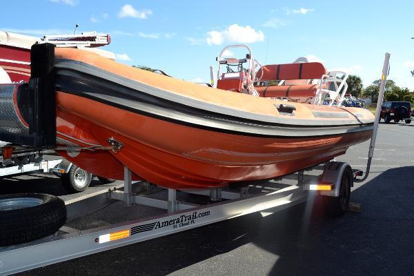 2011 Nautica Rib 20' Rescue Boat