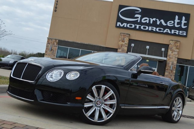 2013 Bentley Continental GT V8 CONVERTIBLE * PREVIOUSLY CERTIFIED * EXCELLENT COND