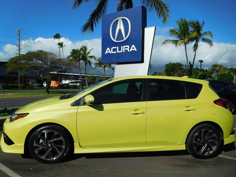 2016 Scion iM Base 4dr Hatchback CVT