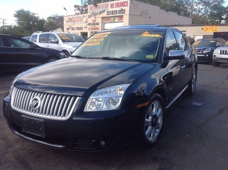 2008 Mercury Sable Premier 4dr Sedan