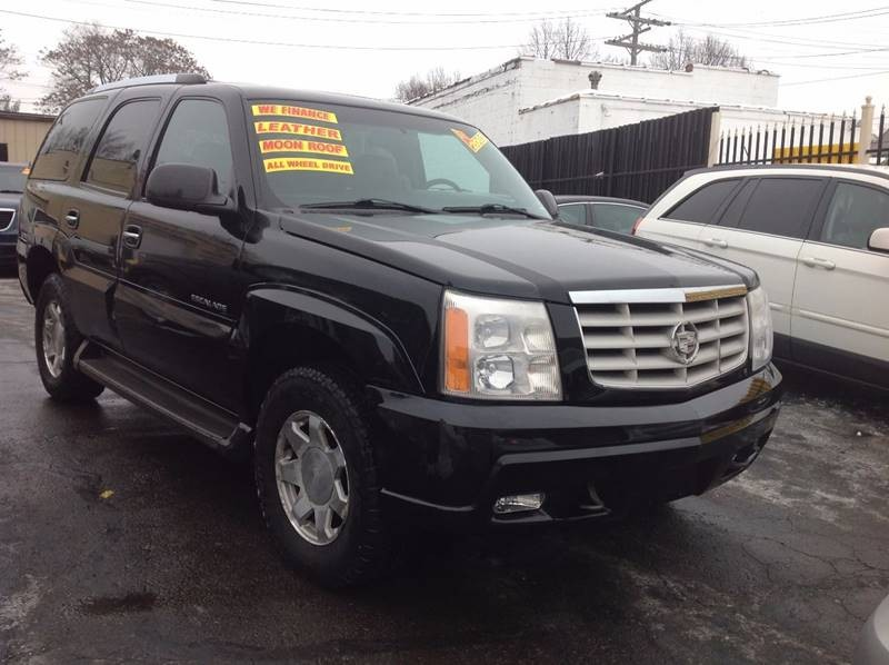 2002 Cadillac Escalade Base AWD 4dr SUV