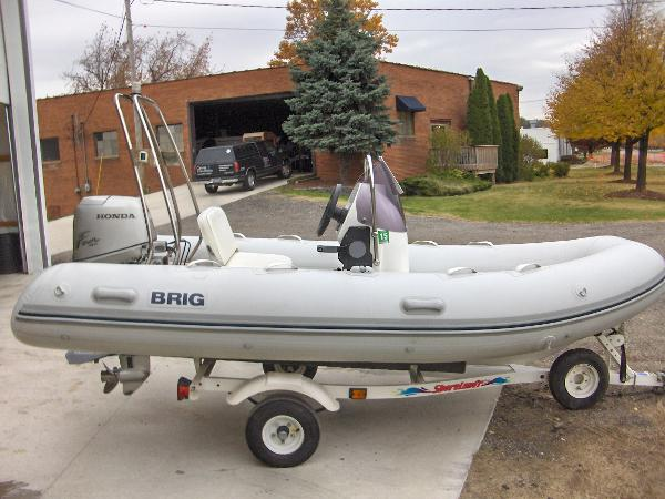2006 Brig Inflatable 25hp four stroke