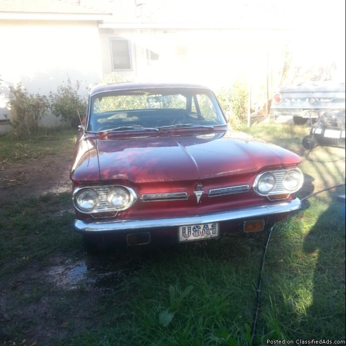 Corvair Spyder Parts Cars For Sale